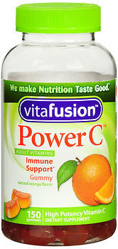 Vitafusion Power C, Immune Support Gummies, 150 gummies