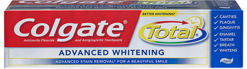 Colgate Total Advanced Whitening Toothpaste, 4 oz
