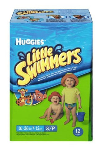 Huggies Lil Swimmers, Small Swimpants, 12 ea