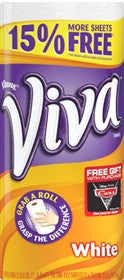 Viva Paper Towel Rolls, 24 rolls, 68 sheets each