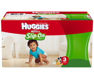 Huggies Little Movers DIapers, Slip-On, Size 3, 116 ea