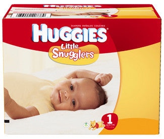 Huggies Little Snugglers Diapers, Size 1, 140 ea