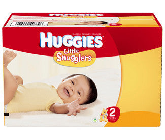 Huggies Little Snugglers Diapers, Size 2, 128 ea