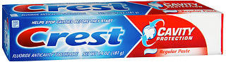 Crest Cavity Protection Toothpaste,  Regular Paste, 6.4 oz