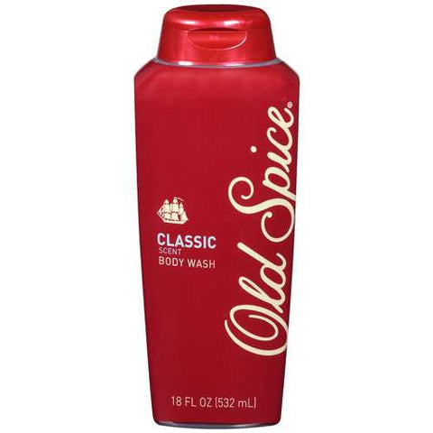 Old Spice Classic Body Wash, 18 oz