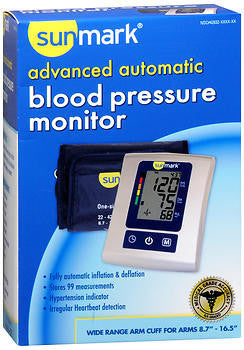 Sunmark Advanced Automatic Blood Pressure Monitor