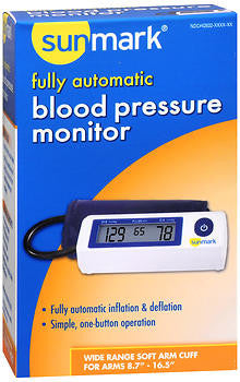 Sunmark Fully Automatic Blood Pressure Monitor