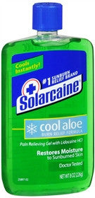 Solarcaine Cool Aloe Burn Relief Gel, 8 oz