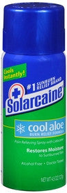 Solarcaine Cool Aloe Burn Relief Spray