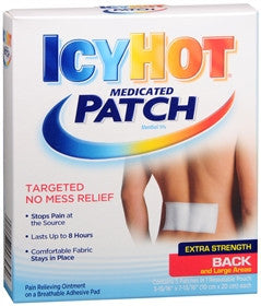 Icy Hot Medicated Patches, Extra Strength, Back & Large Areas, 5 ea