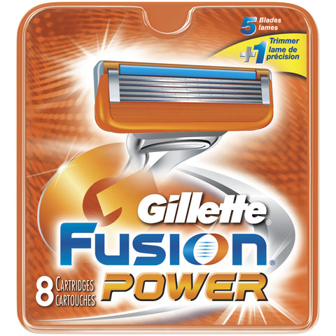 Gillette Fusion Powerglide Cartridges, 8 ea
