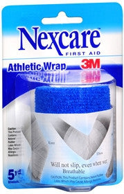 Nexcare Athletic Wrap, Blue, 3 inches x 2.2 yards