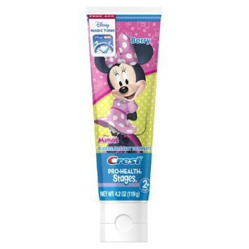 Crest Pro-Health Stages Toopaste, Minnie Mouse