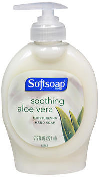 Softsoap Liquiud Hand Soap, Soothing Aloe Vera, 7.5oz