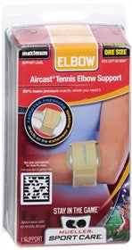 Mueller Sport Care Aircast Tennis Elbow Support, One Size