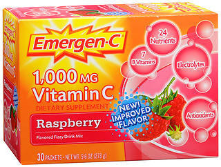 Emergen-C Raspberry, 30 packets