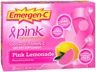 Emergen-C Pink Lemonade, 30 packets