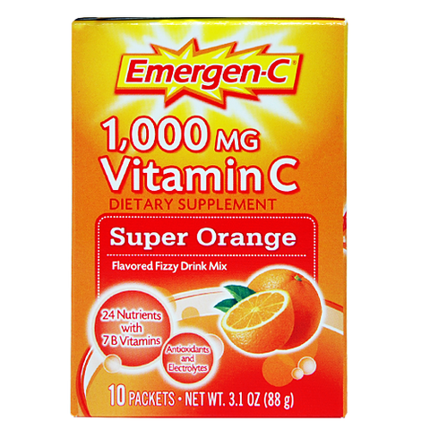 Emergen-C Super Orange, 10 packets