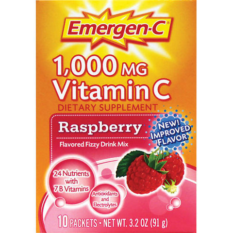 Emergen-C Raspberry, 10 packets