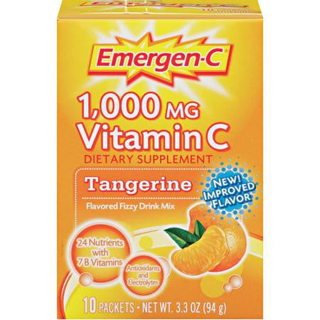 Emergen-C Tangerine, 10 packets