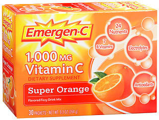 Emergen-C Super Orange, 30 packets