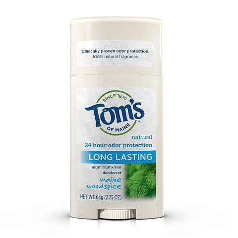Tom's Of Maine Natural Deodorant Stick, Maine Woodspice