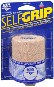 Self Grip Self-Adhering Athletic Tape/Bandage, 3-Inch