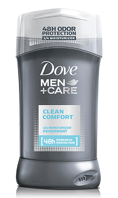 Dove Men+Care Clean Comfort Deodorant, 2.7 oz