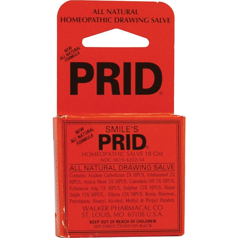 Hylands Homeopathic Prid Drawing Salve,  All Natural, 18 gram