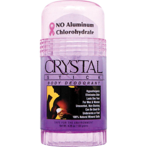 Crystal Stick Deodorant Twist-Up, 4.25 oz