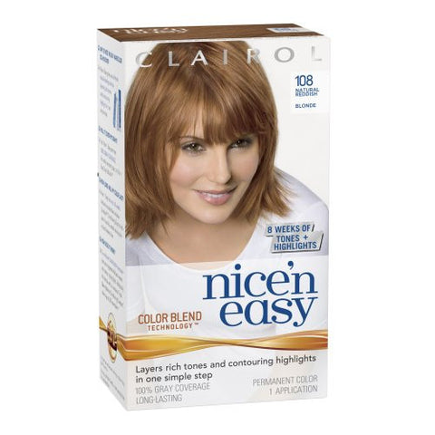 Nice'n Easy Natural Reddish Blonde No. 108