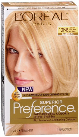 L'Oreal Preference Ultra Natural Blonde 10NB