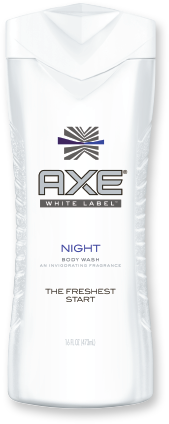 Axe White Label Body Wash, Night, 16oz