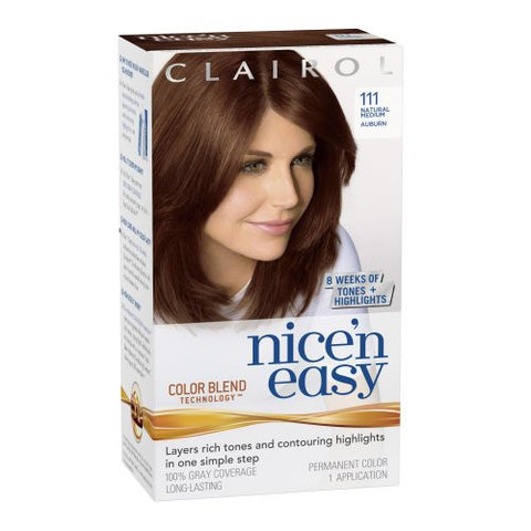 Nice'n Easy Natural Medium Auburn No. 111