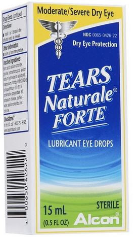 Tears Naturale Forte Lubricant Eye Drops, 1 oz, LIMITED QUANTITY REMAINING