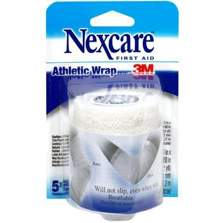 Nexcare Athletic Wrap, White