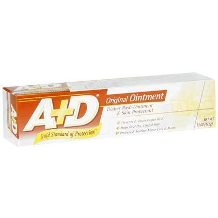 A-D Diaper Cream Diaper Rash Ointment & Skin Protection, Original Ointment, 1.5 oz - PlanetRx