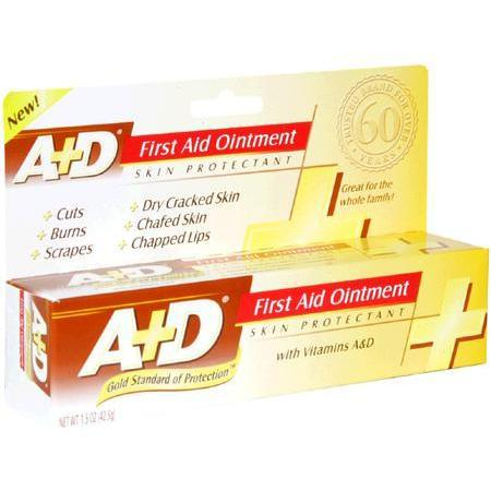 A-D Diaper Cream First Aid Ointment, with Vitamins A & D, 1.5 oz - PlanetRx