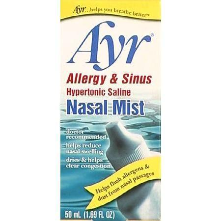 Ayr Allergy & Sinus Nasal Drops, 2.65%, 50mL - PlanetRx