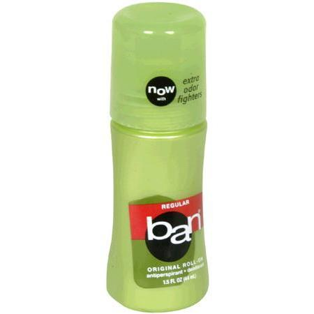 Ban Antiperspirant / Deodorant, Original Roll-On, Regular, 1.5 oz