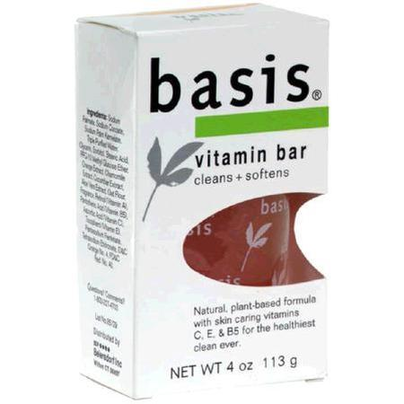 Basis Bar, Vitamin, 4 oz