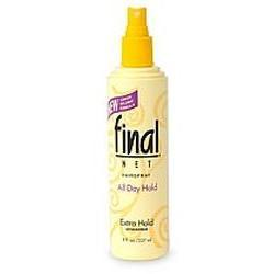 Clairol Final Net Hairspray Non-Aerosol, Extra Hold Unscented, 12 oz