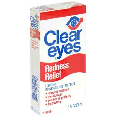 Clear Eyes Lubricant Redness Reliever Eye Drops, 1 oz