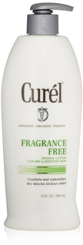 Curel 24-Hour Daily Moisturizing Lotion, Fragrance Free, 13 oz