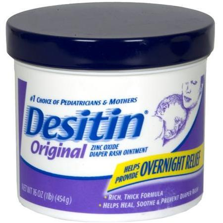 Desitin Diaper Rash Ointment, Zinc Oxide, Original, 16 oz