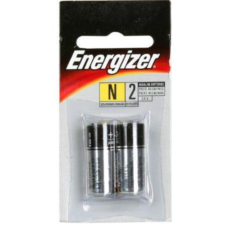 Energizer Alkaline Batteries,  1.5 Volts, N, 2 batteries