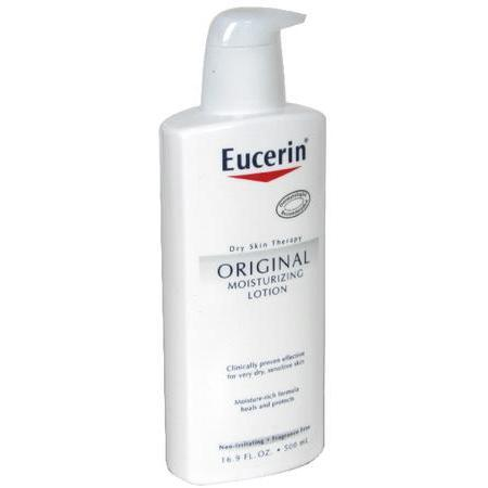 Eucerin Moisturizing Lotion, Original, 16.9 oz