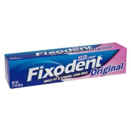 Fixodent Denture Adhesive Cream, Original, 1.4 oz