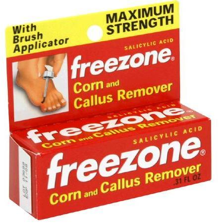 Freezone Corn and Callus Remover, Maximum Strength, 0.31 oz