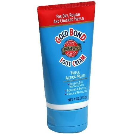 Gold Bond Foot Cream, Triple Action Relief, 4 oz